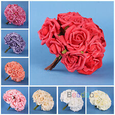 10-100 Head Hot Latex Real Touch Artificial Rose Flowers For Diy Bouquets Bridal