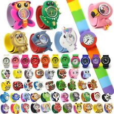 POPWATCH® SNAP ON SLAP WATCH - Quartz, Silcone - Choose your Colour
