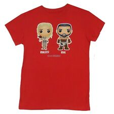 Game Of Thrones Funko  Khaleesi And Khal Licensed Women Junior Shirt S-XL