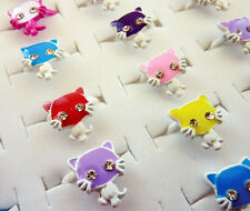 HELLO KITTY STYLE RINGS PARTY BAG FILLERS - Choose your Quantity - CR CAT