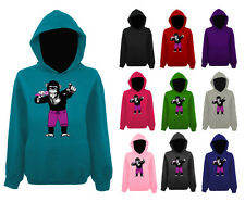 Womens Monkey Chimp Singer Band Funny Pullover Hoodie NEW UK 12-22