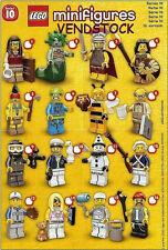 LEGO 71001 SERIES 10 MINIFIGURES BRAND NEW PICK THE FIGURE YOU WANT! VENDSTOCK
