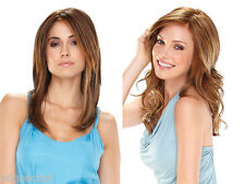 Mid Long Lace Front Monofilament Hand Tied Jon Renau Wavy Straight Wigs