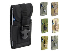 7 Col Phantom Tactical Molle 1000D Middle Size Smart Cellphone Pouch Bag Black A