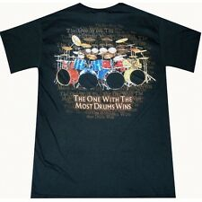 The One with the Most Drums Wins T-shirt
