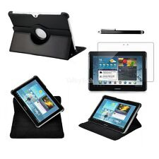 360 Rotating Case Cover For Samsung Galaxy Tab 2 10.1 tablet - Bundle P5100 5110