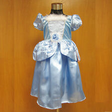 Halloween Birthday Party Cinderella Princess Baby Girls Fancy Dress Costume 2-9y