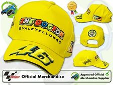 NEW OFFICIAL 2013 ROSSI VR/46 THE DOCTOR KIDS YELLOW VR46 CHILDS PADDOCK CAP/HAT