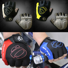 4 Colors 3 Sizes Outdoor Sports Cycling Bike Bicycle Gel Half Finger Gloves Cool