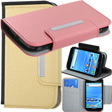 Folio Wallet Flip Leather Card Holder Case for Samsung T989 Galaxy S II T-Mobile