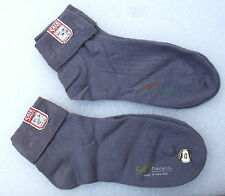 SUNSOX 1950s ankle socks UNUSED real vintage clothes hosiery Men or women GREY