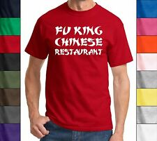 Fu King Chinese - Adult Holy Funny Tee Asian Buffet Ninja Gag Gift T-Shirt - New