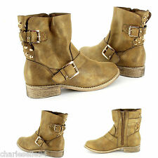 CHARLESELIE94 bottes bottines cuir clous bijoux or CATHY GOLD femme  mode hiver