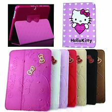 Hello Kitty Leather Case Cover For Samsung Galaxy Tab 3 10.1 P5200 P5210 cartoon