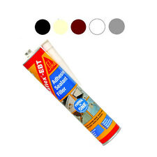 Sikaflex EBT Sealant  x 4 - Filler - Adhesive 3in1 Internal & External 330ml X 4