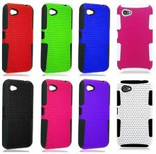 For HTC First Facebook Phone Cover Apex Double Layer Hard Soft Case