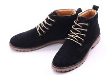 Hot fashion England Style Men's Autumn Fashion Lace Suede Ankle Boots Shoes SN38