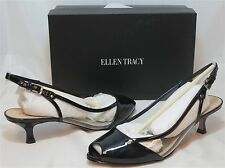 ELLEN TRACY Women's Lynn Pump - Black - Sz 7.5-9 NIB - MSRP $89