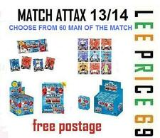 MATCH ATTAX 13/14 CHOOSE FROM ALL 60 MAN OF THE MATCH
