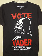 Star Wars Licensed Black (Vote Vader Together We Will Rule the Galaxy) T-shirt
