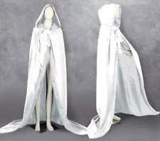 New Halloween Hooded Velvet Cape Wedding Cloak Pagan Witch-Various Colours S-XXL