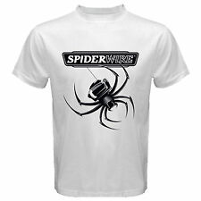 Spiderwire Stealth Braided Fishing Line Logo white T Shirt Size S M L XL 2XL 3XL