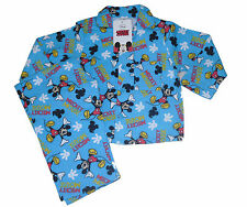 BOYS PYJAMAS DISNEY MICKEY MOUSE FLANNEL