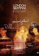 LONDON GRAMMAR If You Wait SIGNED Autographed PHOTO Print POSTER Metal CD 001
