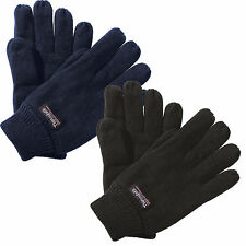 Regatta Thinsulate Thermal Insulation Knitted Lined Gloves Warm Winter Skiing