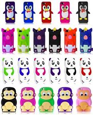 For iPhone 5C Lite Cover 3D Silicone Animal Accessory Case