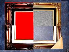 8x10 Lot of 2 - Gold or Brown Ornate Wedding Studio Portrait Picture Frame B5GB
