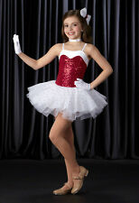 SWEETHEART Christmas Ballerina Tutu w/Mitts Dance Costume Child & Adult Size