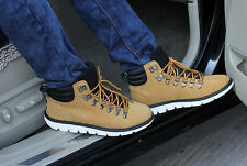 New Men's Winter Casual Nubuck High Top Lace up Slip on Comfy Shoes Ankle Boots