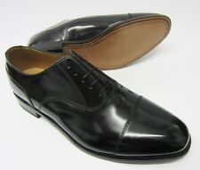 Loake Mens 200B Black Polished Leather Laced Oxford Shoes Fitting~G