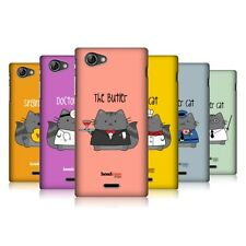 HEAD CASE DESIGNS WILBUR THE PROFESSIONAL CASE COVER FOR SONY XPERIA J ST26i