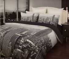 EMPIRE STATE BUILDING NEW YORK 3 Pce King Size Quilt / Doona Cover Set New