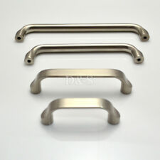 Solid Stainless Steel Brushed Kitchen Cabinet Cupboard Drawer Door Pull Handle