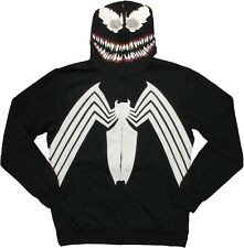 Venom Grin Spider-Man Costume Marvel Comics Licensed Hoodie S-2XL