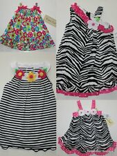 Rare Too! NWT Safari Zebra Sun Dress CHOICE Sophie Rose 12M 18M 24M 2T 3T 4T