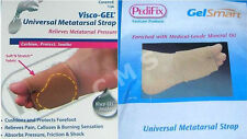 PediFix Visco-Gel Universal Metatarsal Strap Covered/Uncovered Pad GelSmart Mgel