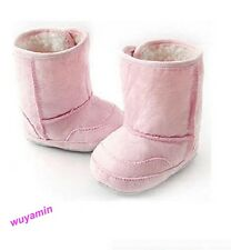 New 2014 winter baby Boys Girls snow boots kids warm shoes 3 colors 6-22 months