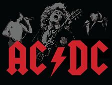 AC-DC Sticker Decal *3 SIZES*  Vinyl Bumper Wall AC/DC
