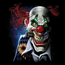 NEU, Fantasy, Biker, Chopper, Gothic Sweatshirt, Joker Clown, L - 5XL