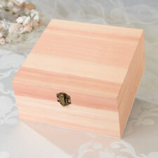 """Personalized Wooden Pine Card Box Wedding Reception Wishing Well 7.75"""" x 3.75"""""""