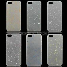 Artistic Dot Thin Back Case Noctilucent Cover for iPhone 5S 5 Translucent #Cu3