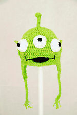 Toy Alien Earflap Hat from Toy Story, Disney Pixar Laplander Beanie baby-adult