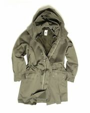 Genuine French Army Issue Surplus M300 Cold Weather Parka with Faux Fur Liner