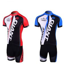 Cycling Team Wear Short Bike Bicycle Shirt Jersey & Shorts Pant Pet Sets S-3XL
