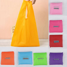 New stylish Foldable Storage Grocery Bag Eco Friendly Reusable Shopping Tote K