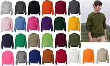 JERZEES NuBlend Crewneck Sweatshirt 50/50 Mens Fleece Crew S-4XL 562MR